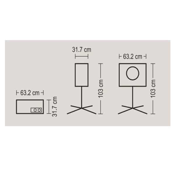 کولر پرتابل آبسال مدل AC26